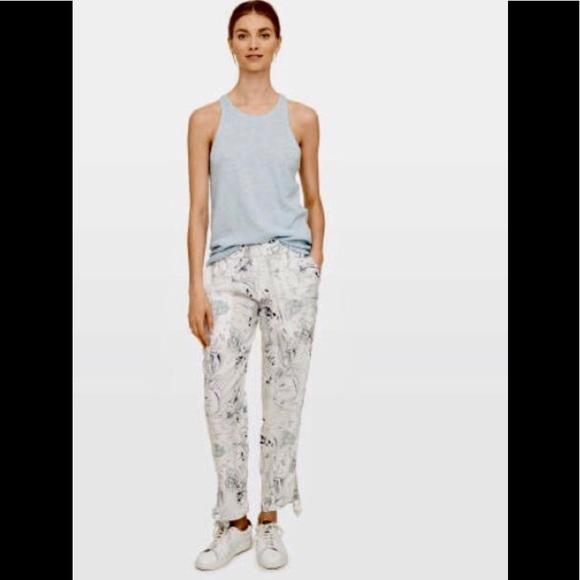 ceb16cbaa6a Club Monaco Blaise Pant size 0 100% silk